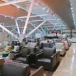 デリー空港国内線ターミナル1の空港ラウンジもなかなか良い件。