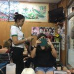 激安エクステ体験!タイの美容室でカラーエクステをつけてみる!