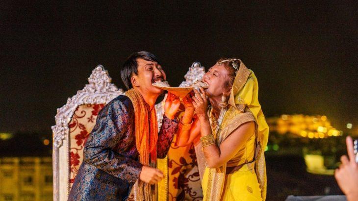 インドの砂漠で結婚式!!【前夜祭=後編=】