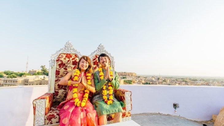 インドの砂漠で結婚式!!【前夜祭=前編=】